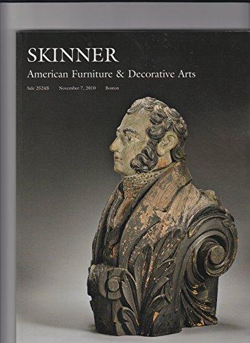 Skinner: American Furniture and Decorative Arts. Boston, November 7, 2010. Sale 2524B