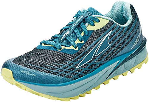 ALTRA Women's AL0A4QTP TIMP 2 Trail Running Shoe, Teal/Lime - 7.5 M US