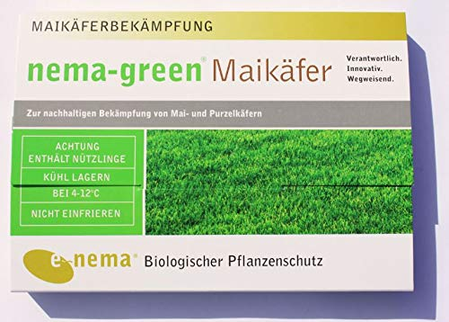 nema-green® Maikäfer (Nematoden-Mix gegen Maikäfer-Engerlinge) 75 Mio für 100qm
