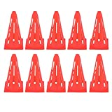 Kosma Set of 10pc Flexible Marking Pop Up Cones -9"