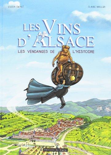 BD Les vins d'Alsace - Les vendanges de l'histoire