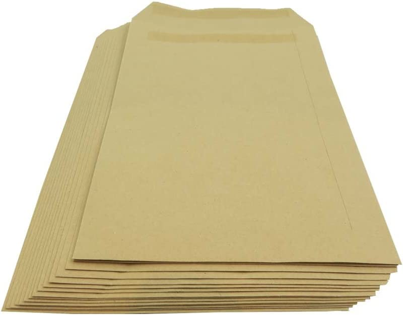 OFFicial shop Max 80% OFF Packitsafe 50 x A4 Size Plain Envelopes 229mm 324mm Self-Seal
