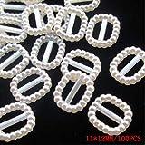 100 PCS/lot 4-20mm Demi-Perles Rondes Seastar Arc Rose Strass Dos Plat Perles Perle Lâche Perles Gem Star Coeur ABS Flatback, 8