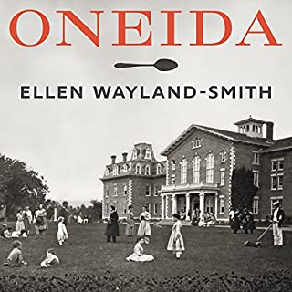 Oneida audiobook cover art