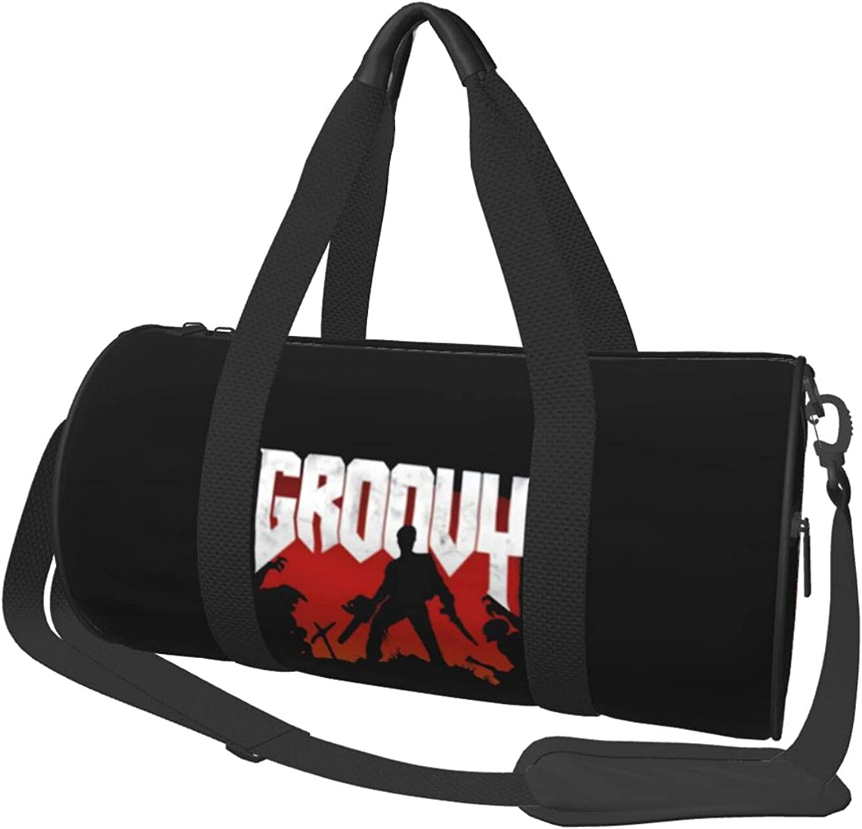 Evil Dead Travel Duffel Virginia Beach Mall Bag Spo Swimming Lightweight Over item handling Durable Gym