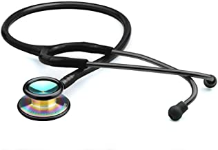 ADC Adscope 603 Clinician Stethoscope with Tunable AFD Technology, 31 inch Length, Iridescent Tactical