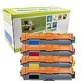 TN-221 TN-225 TN-241 TN-245 (1BK+1C+1Y+1M) Compatible con Brother DCP-9020CDW HL-3140CW HL-3150CDW HL-3170CDW MFC-9130CDN MFC-9330CDW MFC-9340CDW-4-colors