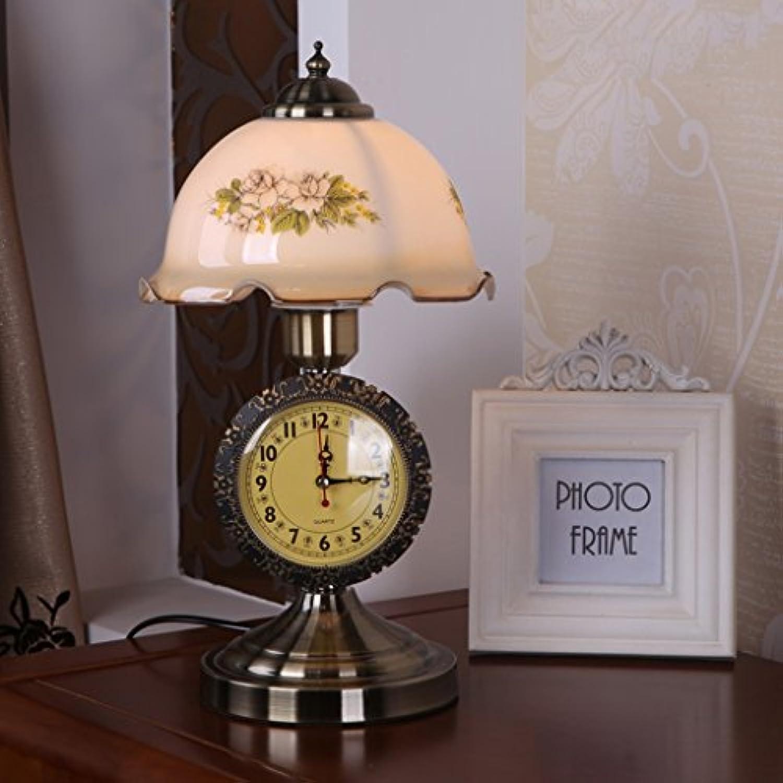 Tischlampe Schlafzimmer tischlampe taste schalter licht wohnzimmer studie licht uhr und heimtextilien tischlampe A+