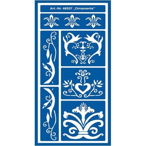 C. KREUL GMBH KREUL Flexible Design schablone Ornaments