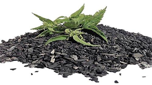 CARBOGARDEN® aktivierte Pflanzenkohle, mit Brennnesseljauche veredelt, 10 Liter, in Premium Qualität, nachhaltig und umweltschonend in Deutschland hergestellt