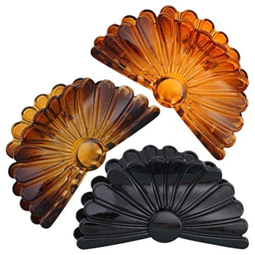 Beaupretty Pince à mors de cheveux en forme de pince à cheveux avec pince à cheveux en plastique pour pince à cheveux en forme de pince pour cheveux, pour femmes