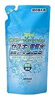 【大掃除特集】リアルメイト セスキ炭酸ソーダ+電解水クリーナー 360ml 詰め替え用 (キッチン用液体洗浄剤)×30点セット (4580225440325)
