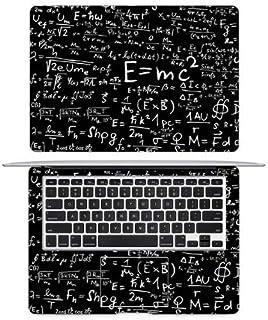أغلفة الكمبيوتر المحمول - ملصقات فينيل واقية متوافقة مع الفيزياء Mulas Einstein Math Formula لـ Air Pro Retina 16 بوصة 13 ...