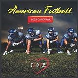 Ilove American Football 2022 Calendar: Official Football Calendar 2022 ,sport Calendar 2022 , Square Calendar 2022