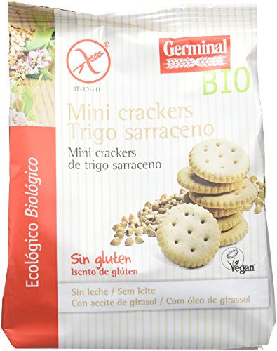 Mini crackers de trigo sarraceno sin gluten BIO - Germinal - 100g