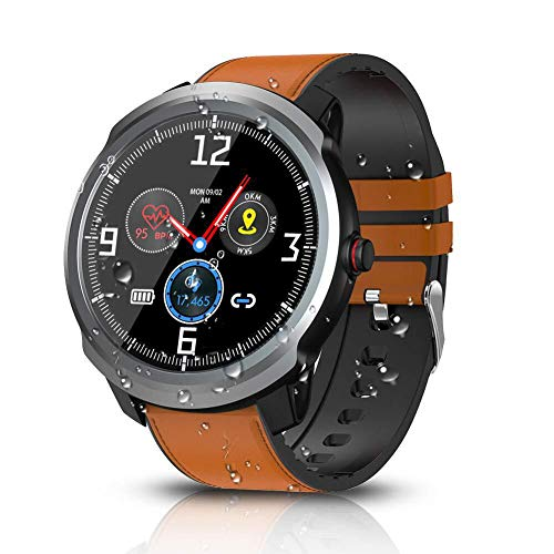 BYTTRON Smart Watch, Bluetooth Smartwatch Fitness Tracker IP68 Activity Tracker Impermeabili Con GPS Sport Record Contapassi Cardiofrequenzimetro Monitor Per il Sonno Per Donne Uomini (Argento)