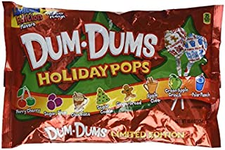 Dum-dums Holiday Pops Limited Edition Pack of 2