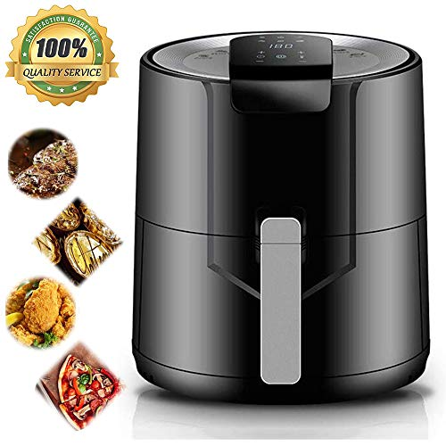 Air Fryer, Fries Machine, Home Multi-Function Intelligent Electric Fryer, 5.5L Capacity,1500-Watt,Healthy Fried Food,Digital Touch Screen with 6 Cooking Presets,220V~230V