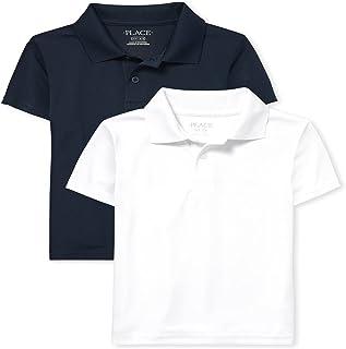 The Children's Place boys Boys Uniform Performance Polo 2-Pack Polo Shirt