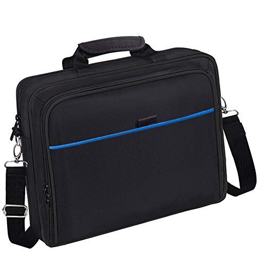 PS4 Bag PS4 Carrying Travel Case Protective Shoulder Bag for PS4 Slim & PS4 Pro, Gaming Console, Controllers and Other Accessories