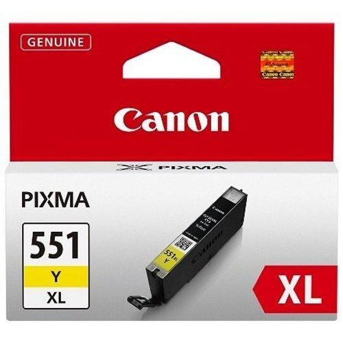 Canon CLI-551 XL Y Druckertinte - Gelb hohe Reichweite 11 ml für PIXMA Tintenstrahldrucker ORIGINAL