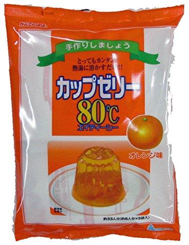 かんてんぱぱ カップゼリー オレンジ味100gX5袋 10個セット