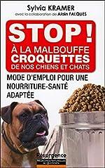 Stop ! A la malbouffe - Croquettes de nos chiens et chats de Sylvia Kramer