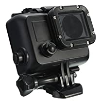 AFUNTA Underwater Waterproof Dive Housing Case Cover with Bracket For Gopro Hero 4/3+/3 Camera 40m Under Water - Black [並行輸入品]