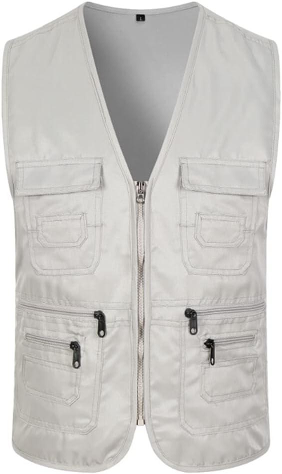 HYFDGV Ranking TOP20 Fishing Max 51% OFF Vests for Men Ja Casual Vest Multi-Pocket