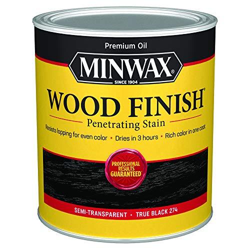 Minwax Holz-Finish 700514444, Quart, True Black, 32 ml