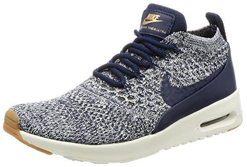 Nike Damen W Air Max Thea Ultra Fk Laufschuhe, Mehrfarbig (College Navy/College Navy/Sail), 39 EU