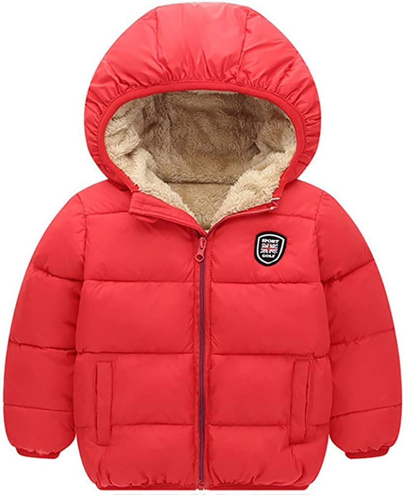 MiyaSudy Toddler Kids Surprise price Winter Warm Jacket Long Coat High quality Girls Boys Sl