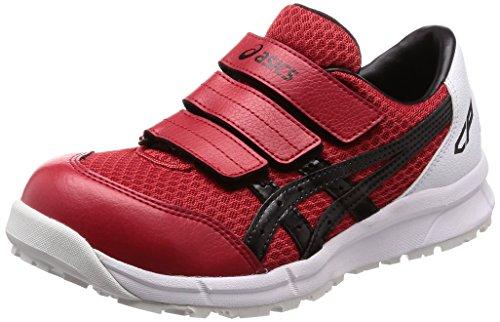 [アシックス] ワーキング 安全靴/作業靴 ウィンジョブ CP202 JSAA A種先芯 耐滑ソール αGEL搭載 クラシックレッド/ブラック 25.5