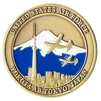 United States Air Force USAF Yokota Air Base AB Tokyo Japan USA Flag Challenge Coin