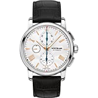 Montblanc 4810 Automatic Chronograph Silver White Dial Men's Watch