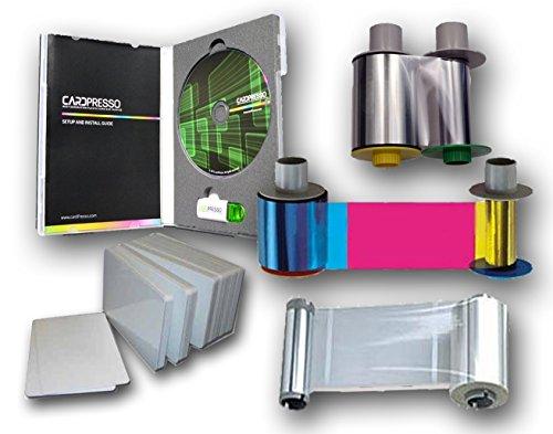 Fargo HDP5000 Supplies with Laminate