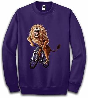 Fox Republic 自転車に乗るライオン キッズ スウェット トレーナー