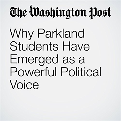 Why Parkland Students Have Emerged as a Powerful Political Voice copertina