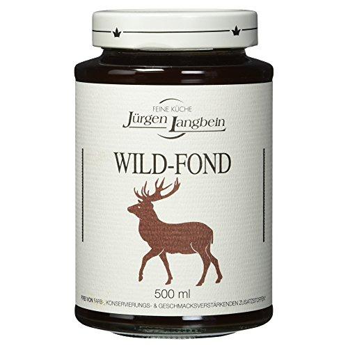 Jürgen Langbein Wild-Fond, 500 ml