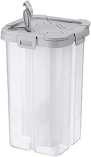 Accueil Pots à épices Boîte de Rangement pour Aliments Compartiment Collation Récipient en Plastique Amovible Caisse de Cu...