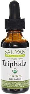 Banyan Botanicals Triphala Liquid Herbal Extract – Organic Formula with Amla, Haritaki & Bibhitaki – for Daily Detoxifying...