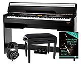Set de E-Piano Classic Cantabile CP-A 320 SM (incl. banqueta y auriculares)