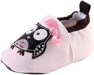f86f20998a9d2 Manadlian Chaussures Bébé Bébé Toddler Soft Sole léopard Chaussures en Cuir  Infantile garçon Fille Toddler Chaussures
