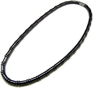 hematite necklace mens
