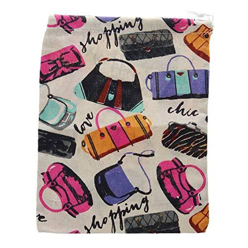 Stephanie Best Quality Drawstring Bags, home opslag organisatie, onderkleding voor schoenen, speelgoed, multifunctioneel, vloeiende systemen, accessoires, 1 stuk Goud