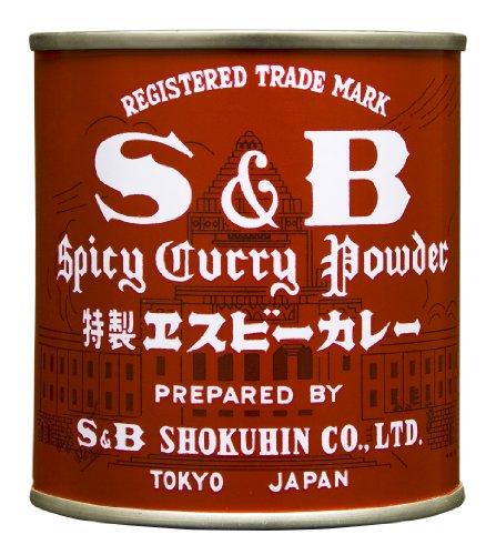 S&B カレー(赤缶)84g