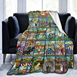 Hoting Customization The Simpsons Suitable for Teenagers, Women, Babies, Adults, Comfortable Blankets, is The...