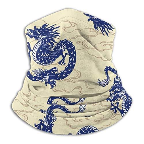 Bandana Kopfbedeckung Schal zum Laufen Radfahren Angeln Sport Indoor Outdoor Modische Kleidung, Chinese Dragon 1