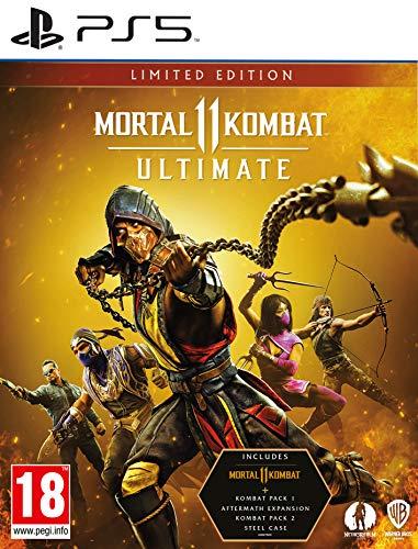 Mortal Kombat 11 Ultimate Limited Edition (PS5) - [AT-PEGI]