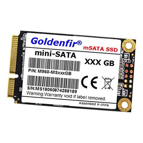 weilifang Goldenfir mSATA 1,8 Zoll SSD Interne Solid State Festplatte Laptop-Antriebs-Scheibe SSD mSATA für Laptop PC Computer, 128GB